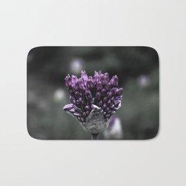 Violet Seedlings Bath Mat