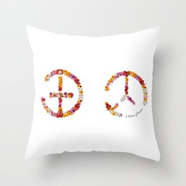 """A brand new - must have - """"IT-PEACE"""" - Living Hell Throw Pillow"""