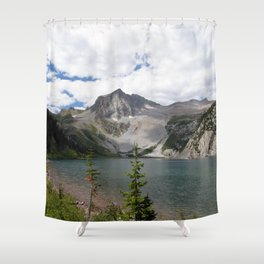 Snowmass Mountain, Colorado Shower Curtain