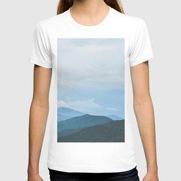 Blue Ridge Mountain Magick Digital Nature Landscape Photography T-shirt