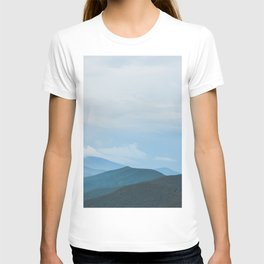 Blue Ridge Mountain Magick Digital Nature Landscape Photography T-shirt