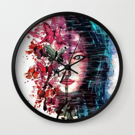 Evanescent 2 Wall Clock