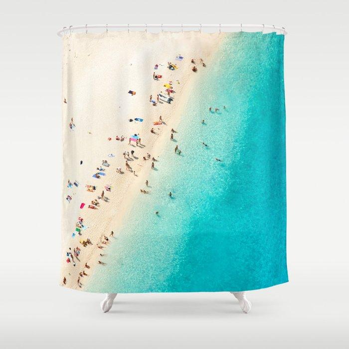 Mediterranean Dreams Shower Curtain