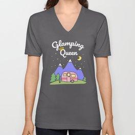 Glamping Queen Unisex V-Neck