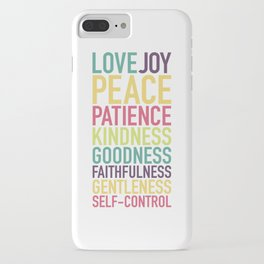Fruits of the Spirit iPhone Case