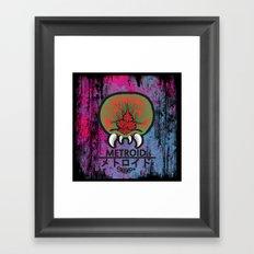 M E T R O I D Framed Art Print