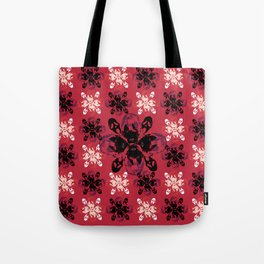 Mean Bitches - Gail Weather Scream Flower Tote Bag