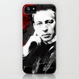 Sergei Rachmaninoff - Russian Pianist, Composer, Conductor iPhone Case