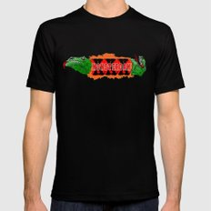 MONSTERDAM MEDIUM Mens Fitted Tee Black