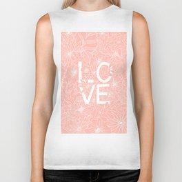Pink Love Biker Tank