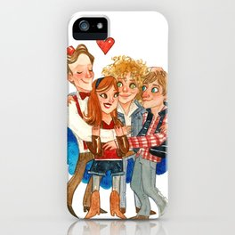 11th Doctor Who and Companions HUG iPhone Case
