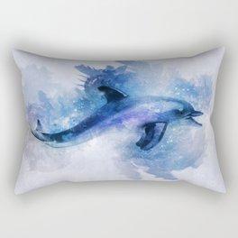Dolphins Freedom Rectangular Pillow