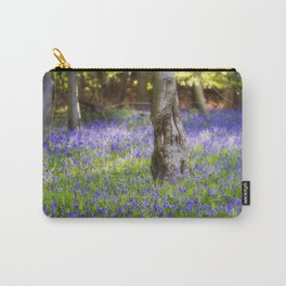Bluebell Woodland Carry-All Pouch