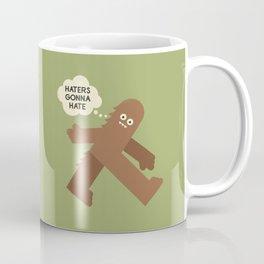 Bigfoot Has So Many Haters Coffee Mug