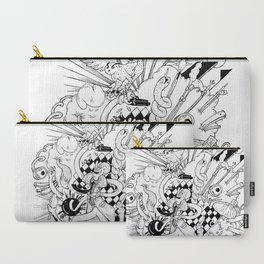 I've seen things (Black & White) Carry-All Pouch