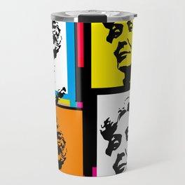 EMMELINE PANKHURST (4-UP POP ART COLLAGE) Travel Mug