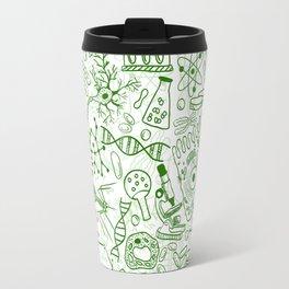 School Chemical pattern #1 Travel Mug