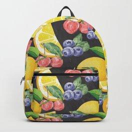 Fruits on Chalkboard Backpack