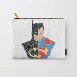 Human vs Kryptonian Carry-All Pouch