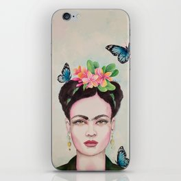 Tropical Frida by Andrea iPhone Skin