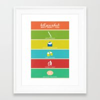 cabin pressure Framed Art Prints featuring Cabin Pressure: Shut Your Face! by robin