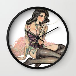 Remember To Forget II Wall Clock