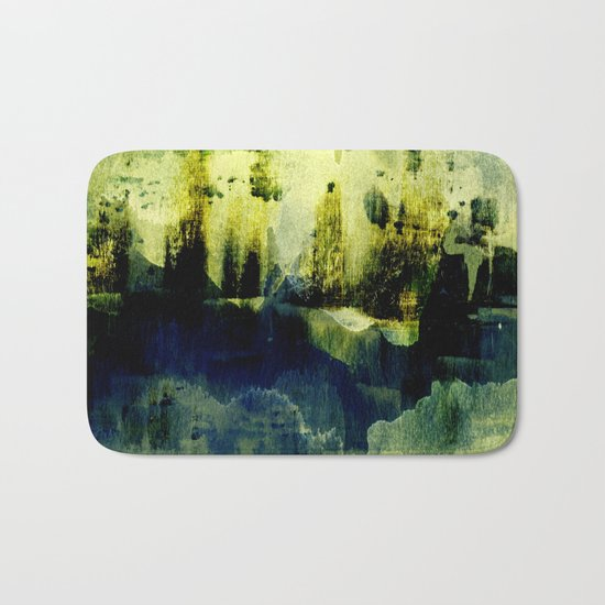 abstract landscape with light Bath Mat