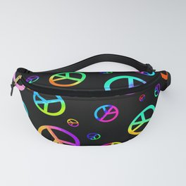 Signs Of Peace Fanny Pack