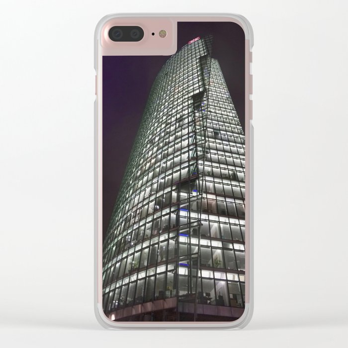 Potsdamer Platz 1 Clear iPhone Case