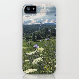 Wildflower Landscapes iPhone Case