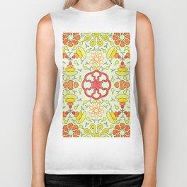 Colorful Mandala #03 Biker Tank