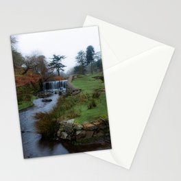 Stream in the park Stationery Cards