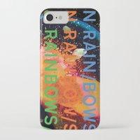 radiohead iPhone & iPod Cases featuring Radiohead - In Rainbows by NICEALB