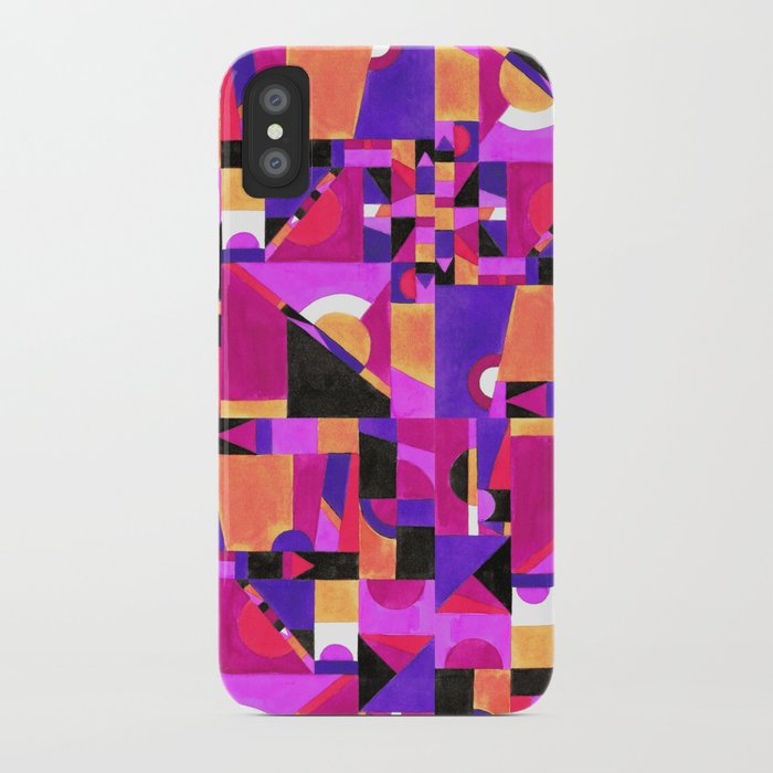 Geomtropy iPhone Case