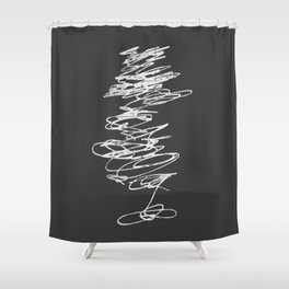 PINPOINT Shower Curtain