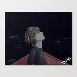 Armin Arlert and Stars Canvas Print