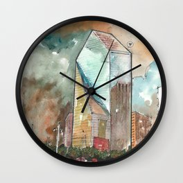 The Fountain Place Wall Clock