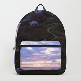 Sunset at the Ocean House Hotel - Watch Hill, Rhode Island Backpack