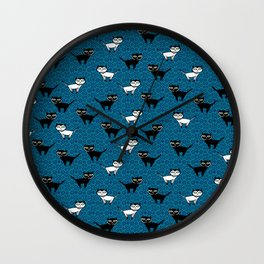 Kitty Kats Wall Clock
