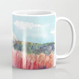 Ruapehu volcano , Tongariro National Park New Zealand Coffee Mug