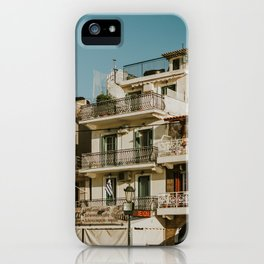 The roofs of Zakynthos iPhone Case
