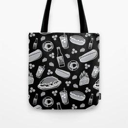 Skyline Chili Pattern Night Tote Bag