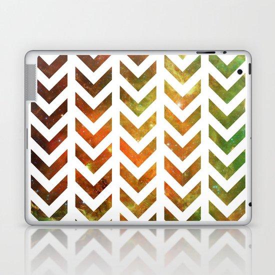 Nebula Chevrons Laptop & iPad Skin