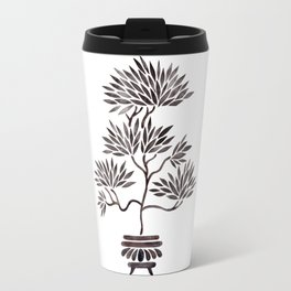 Bonsai Tree – Black Palette Travel Mug