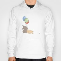 balloons Hoodies featuring Balloons by Jess Wong