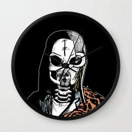 Skull Cobain by zombieCraig Wall Clock