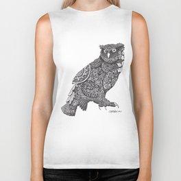 Owl Biker Tank