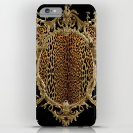 Leopard Chinoise iPhone Case