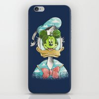 magritte iPhone & iPod Skins featuring duck magritte by Alan Maia