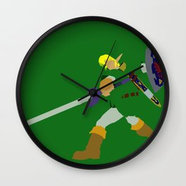 Ready for Action Wall Clock